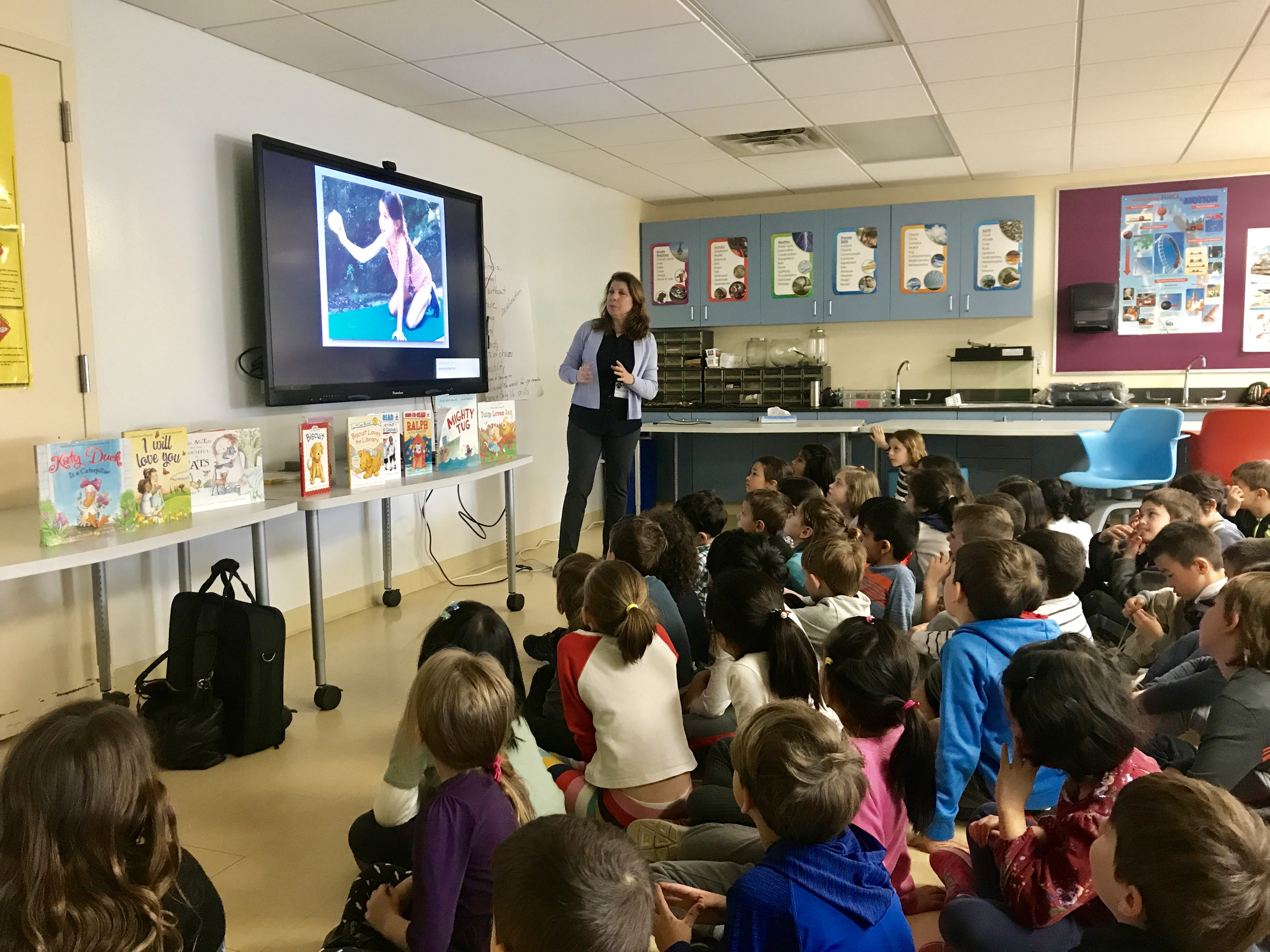 Author Alyssa Capucilli Visits Seely Place