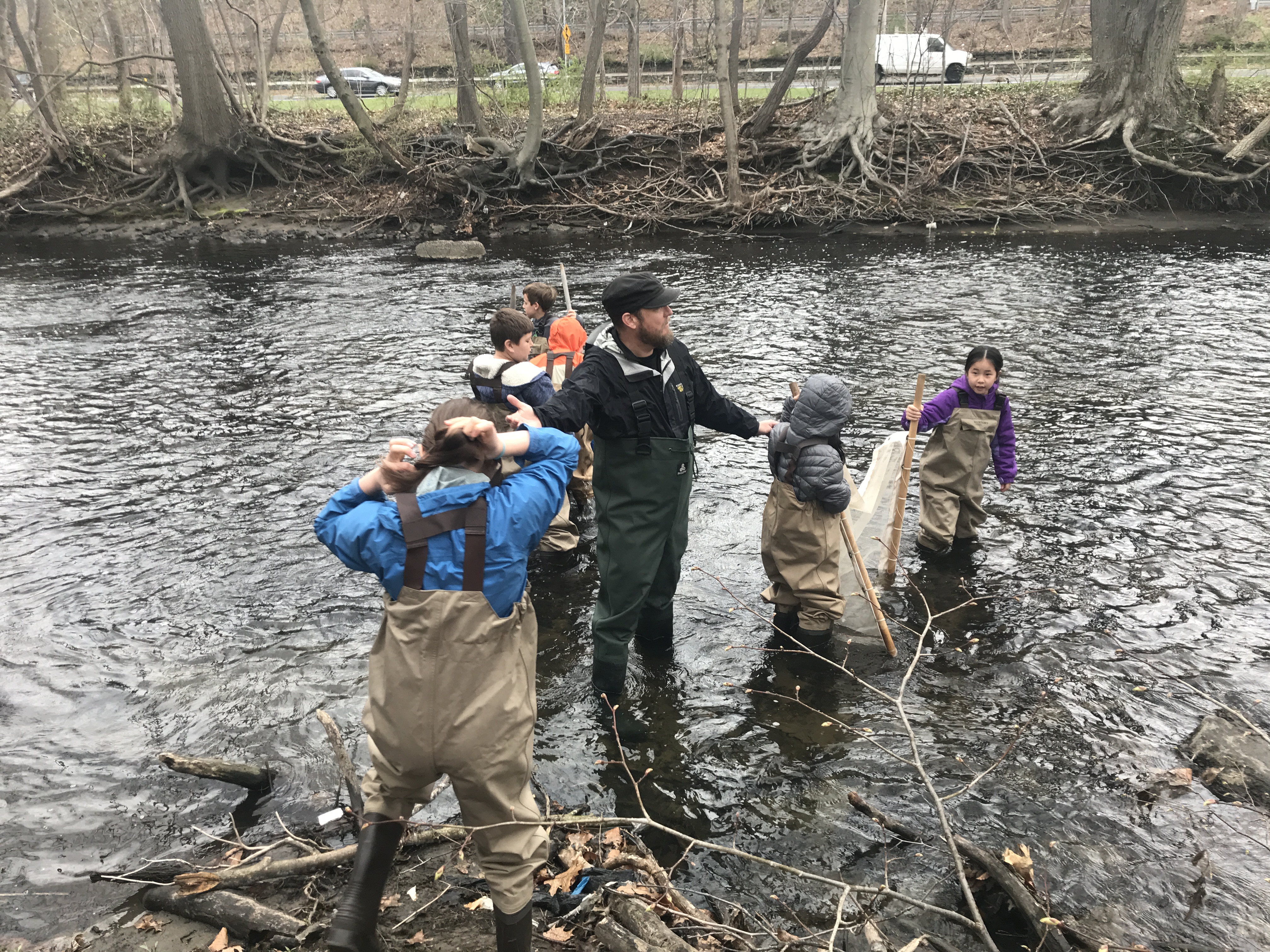 Fourth Graders Study The Bronx River