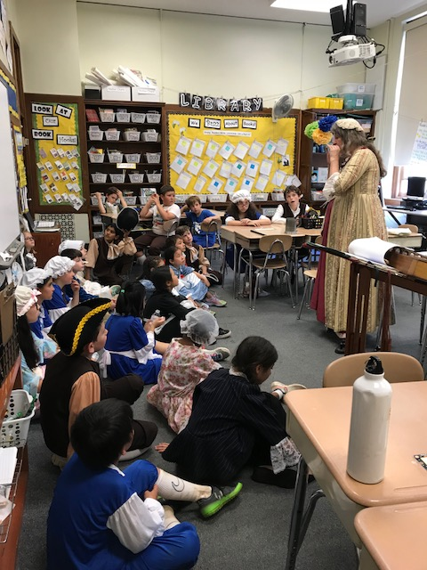 Fourth Grade Colonial Day